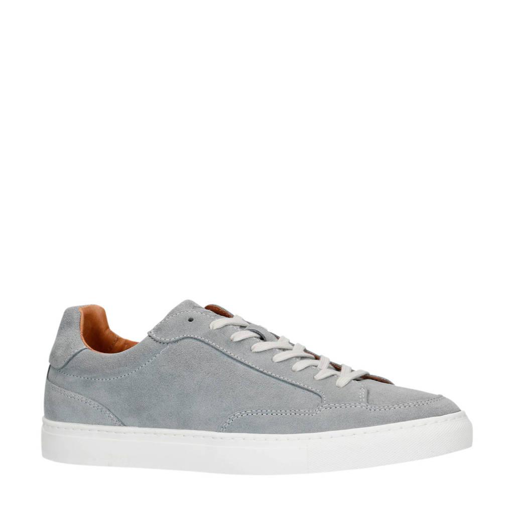 Sacha   suède sneakers grijs, Grijs