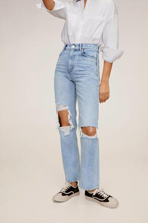 high waist mom jeans blauw