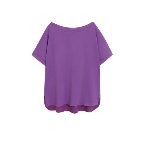 Violeta by Mango T-shirt paars