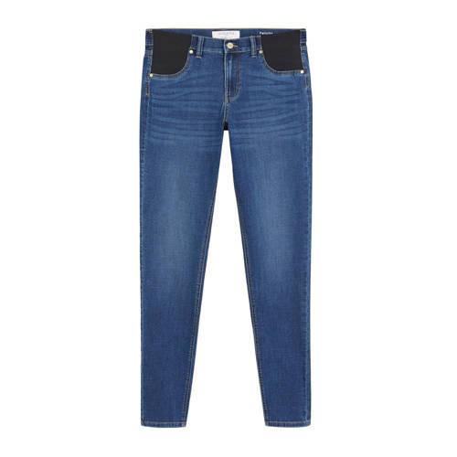 Violeta by Mango skinny jeans donkerblauw