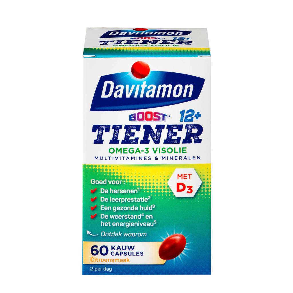 Davitamon Multi Boost Junior 12+ Omega Visolie