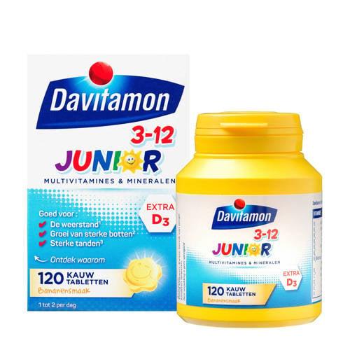 Davitamon Junior 3+ kauwvitamines banaan