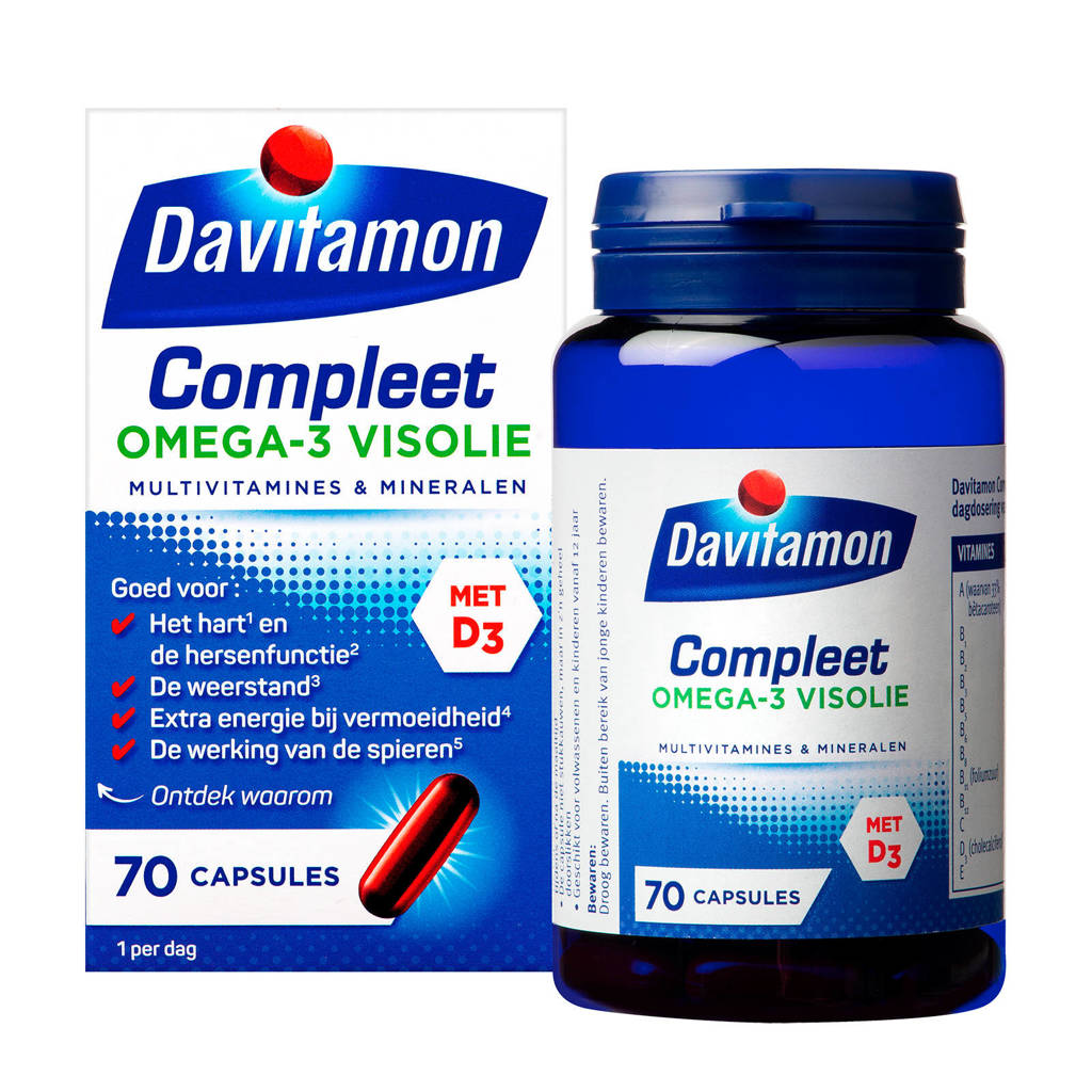 Davitamon Compleet + Omega 3 Visolie