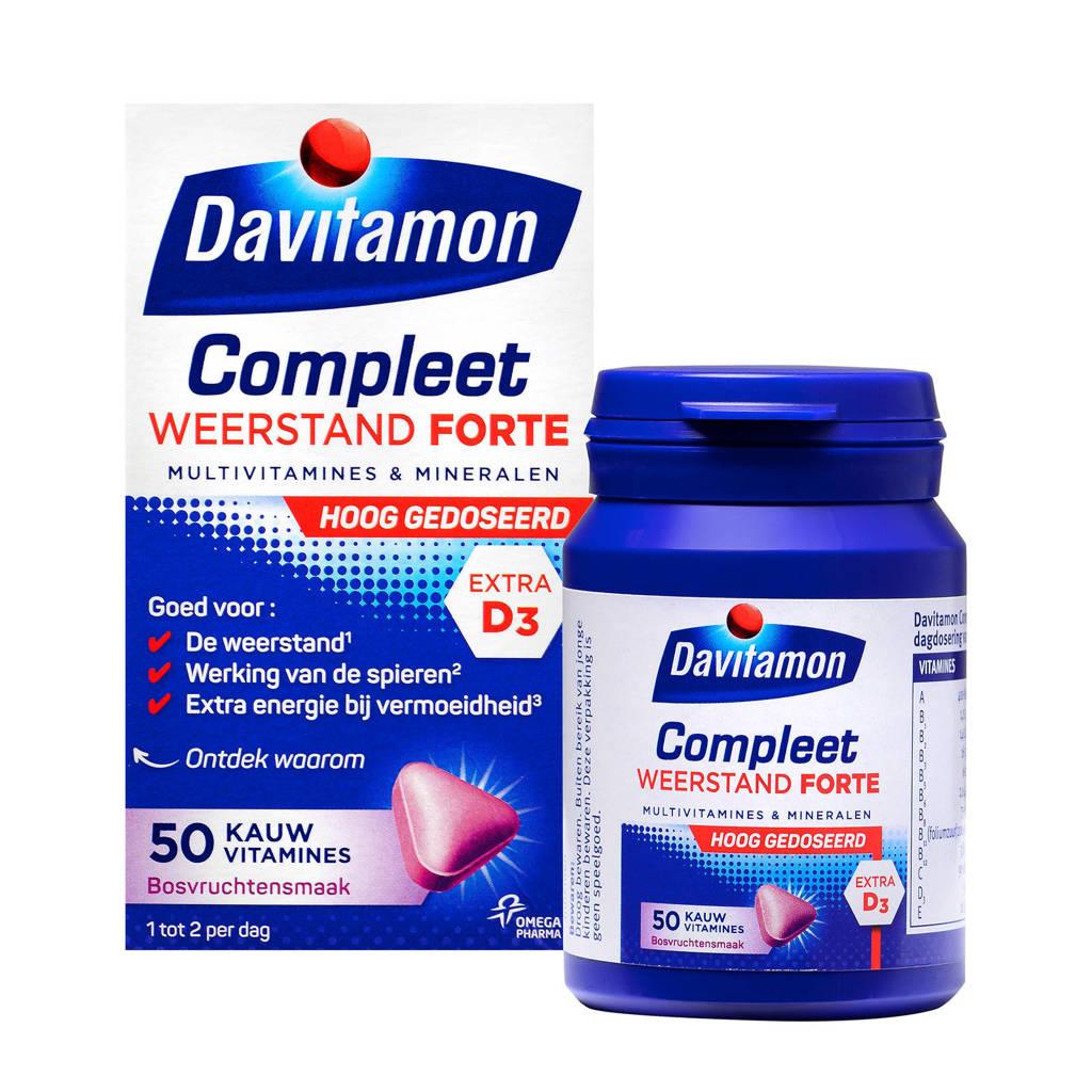 Davitamon Compleet Weerstand Forte multivitamine