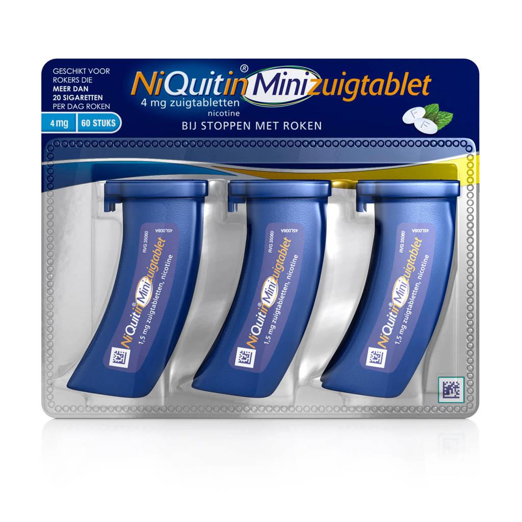 Niquitin Minizuigtabletten 4 mg