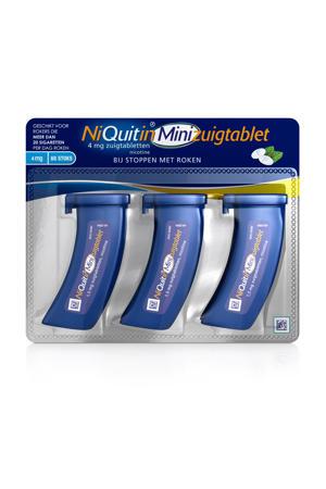 Minizuigtabletten 4 mg