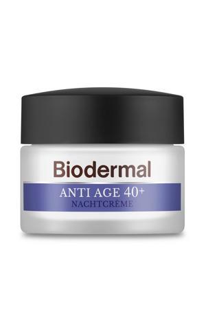 Anti Age 40+  Nachtcrème tegen huidveroudering