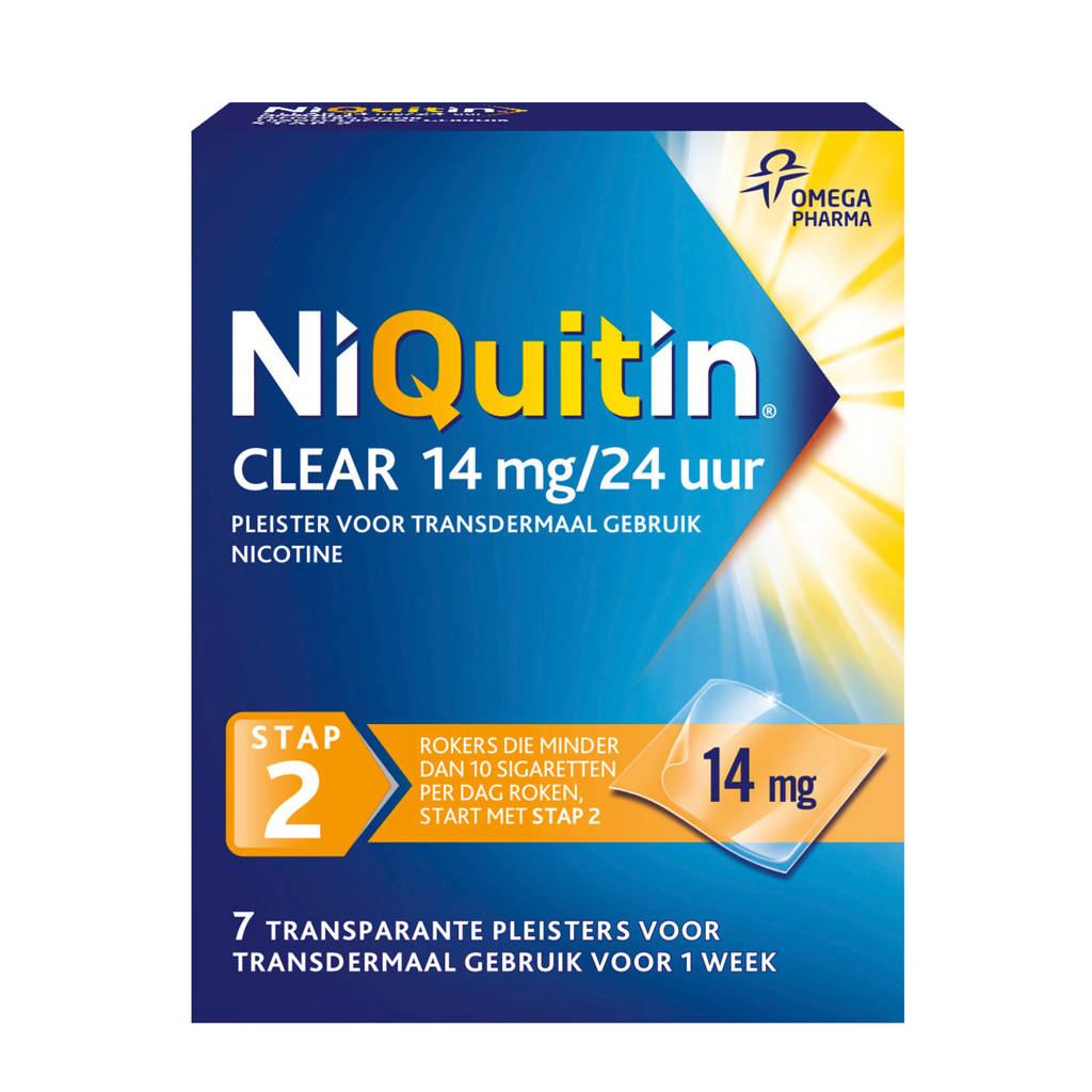 Niquitin Clear Pleisters 14 mg