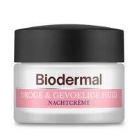 Biodermal Nachtcrème Droge & Gevoelige Huid