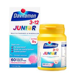 Junior 3+ kauwvitamines