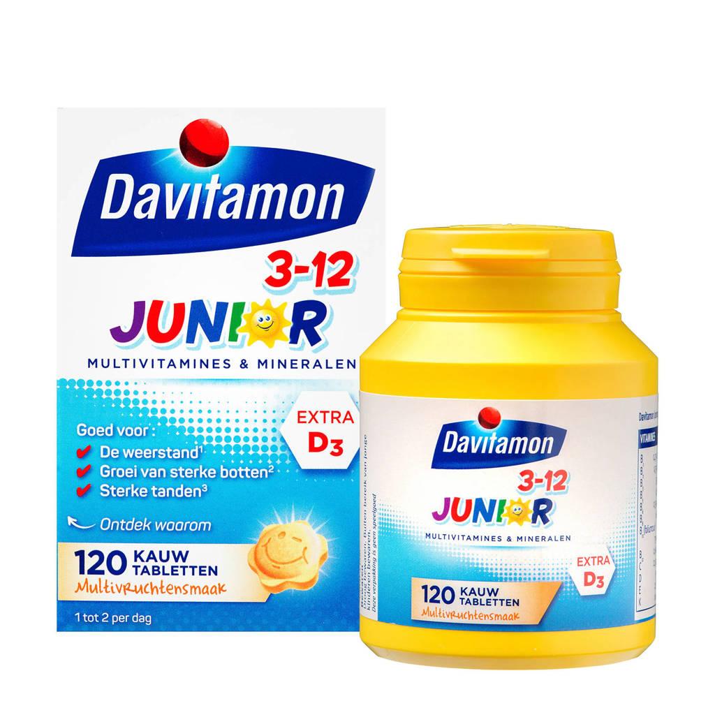 Davitamon Junior 3+ Kauwvitamines multifruit