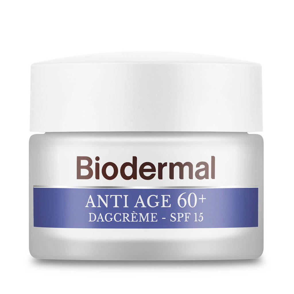 Biodermal Anti Age 60+  Dagcrème tegen huidveroudering