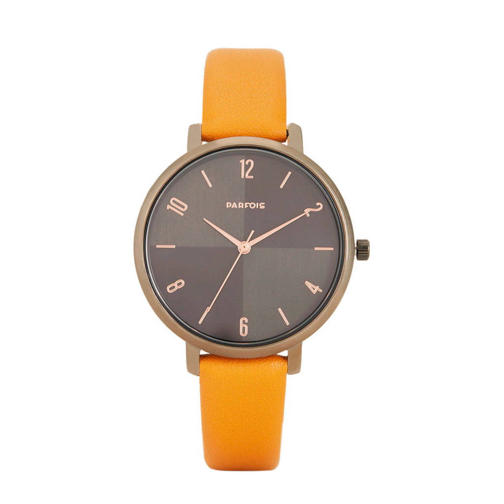 Parfois horloge geel, Maisgeel