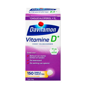 Vitamine D Volwassenen smelttabletten