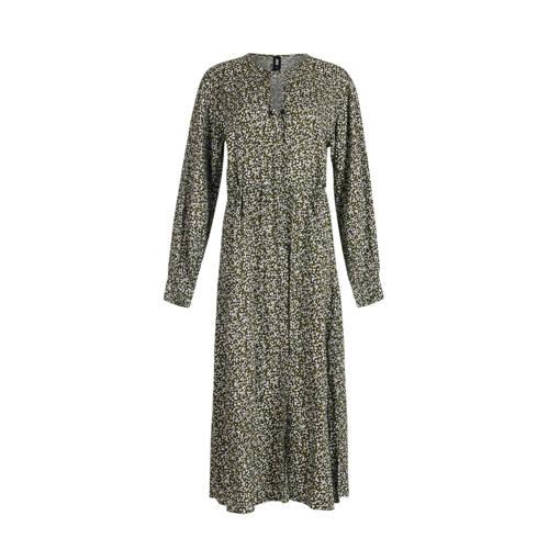 Eksept by Shoeby gebloemde jurk groen