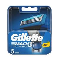 Gillette Mach3 Turbo - 5 Scheermesjes