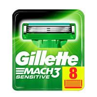 Gillette Mach3 Sensitive - 8 Scheermesjes
