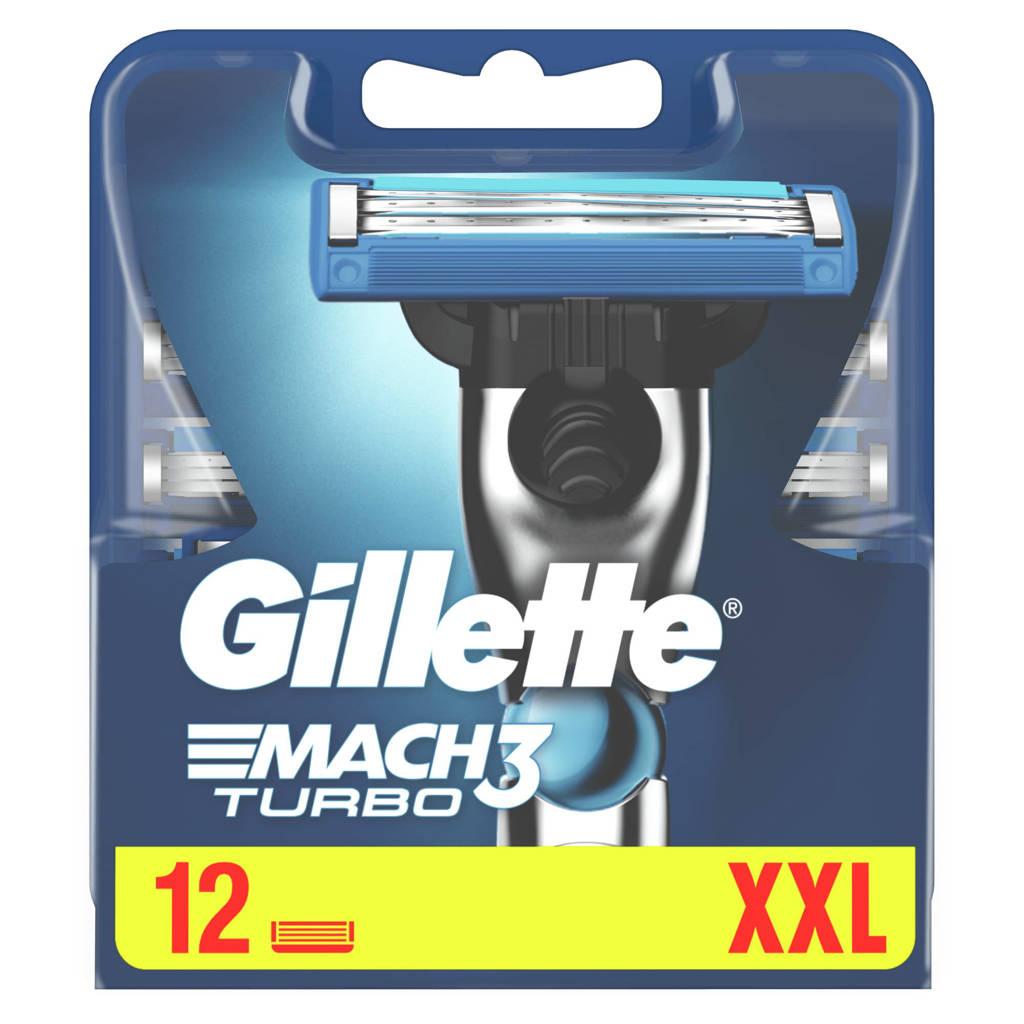 Gillette Mach3 Turbo - 12 Scheermesjes