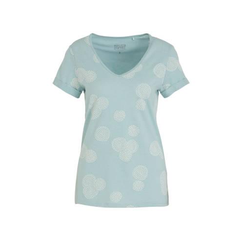ESPRIT Women Casual T-shirt met all over print min