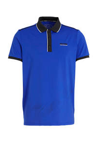 Sjeng Sports   polo Felix wit, Blauw