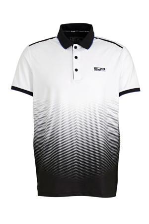 polo Floyd wit/zwart