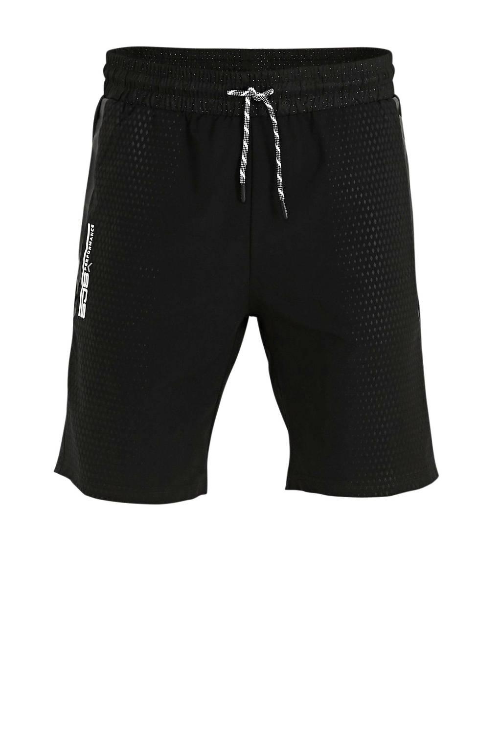 Sjeng Sports   short Calico zwart, Zwart