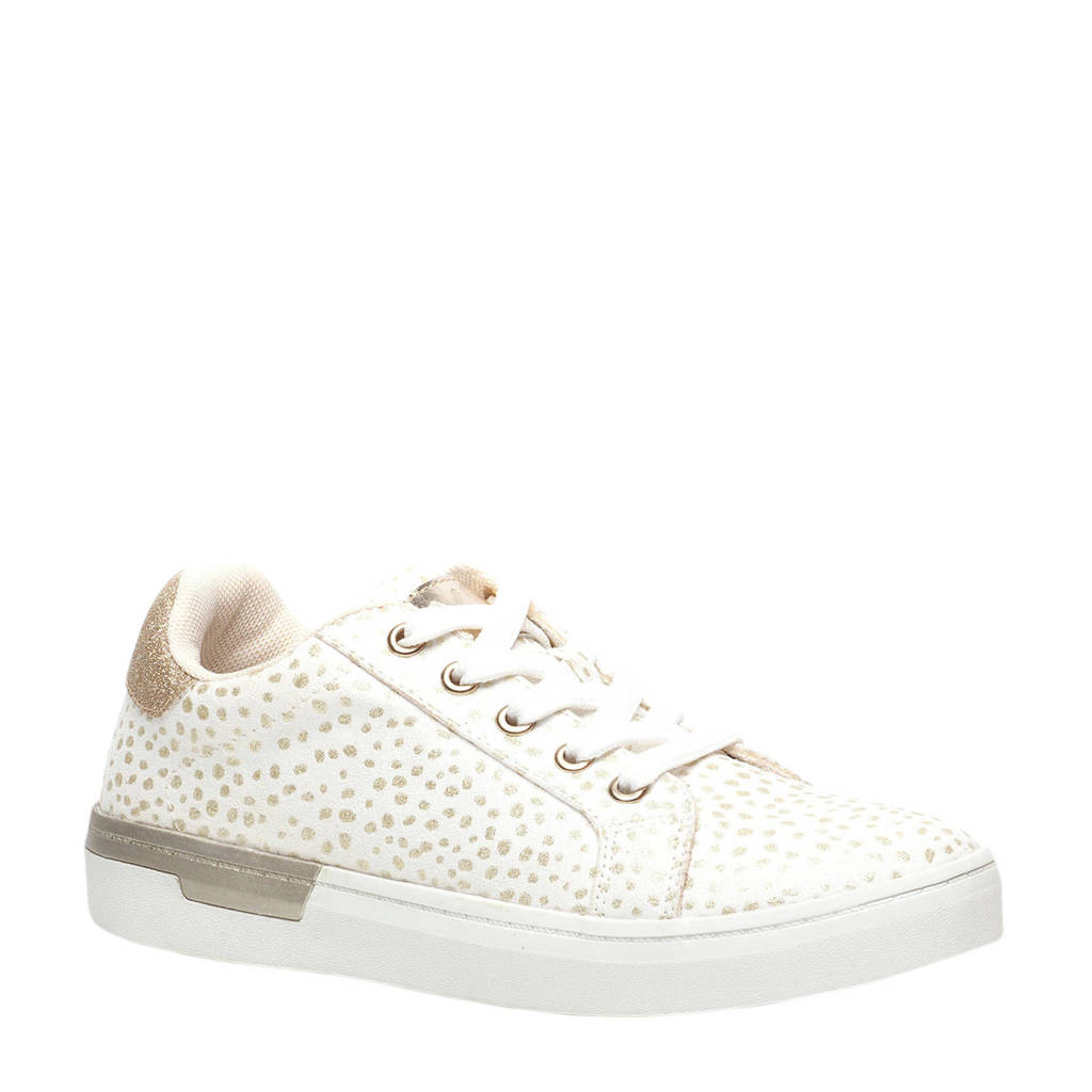 Scapino Blue Box   sneakers wit/goud, Wit/goud