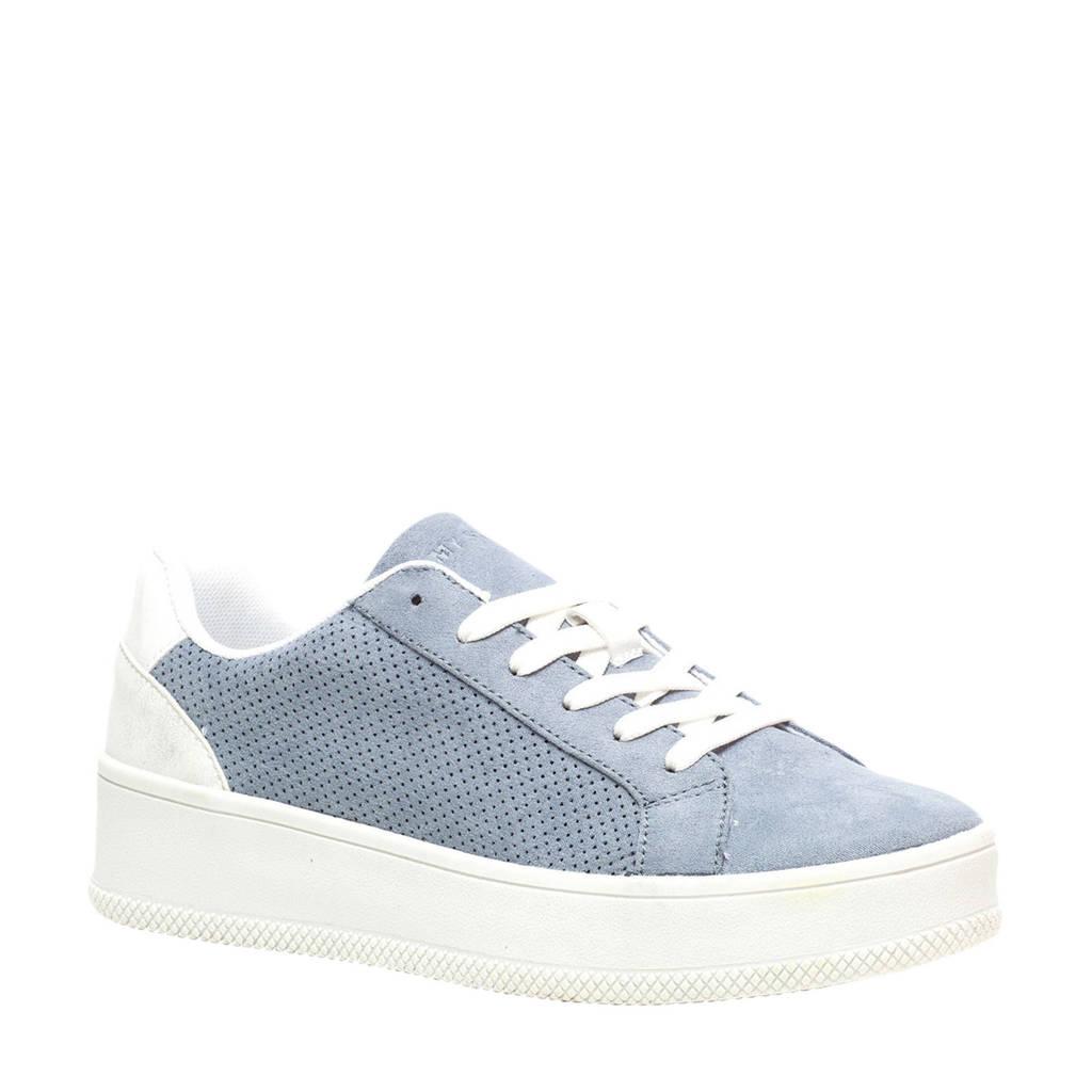 Scapino Blue Box   sneakers blauw, Blauw/wit