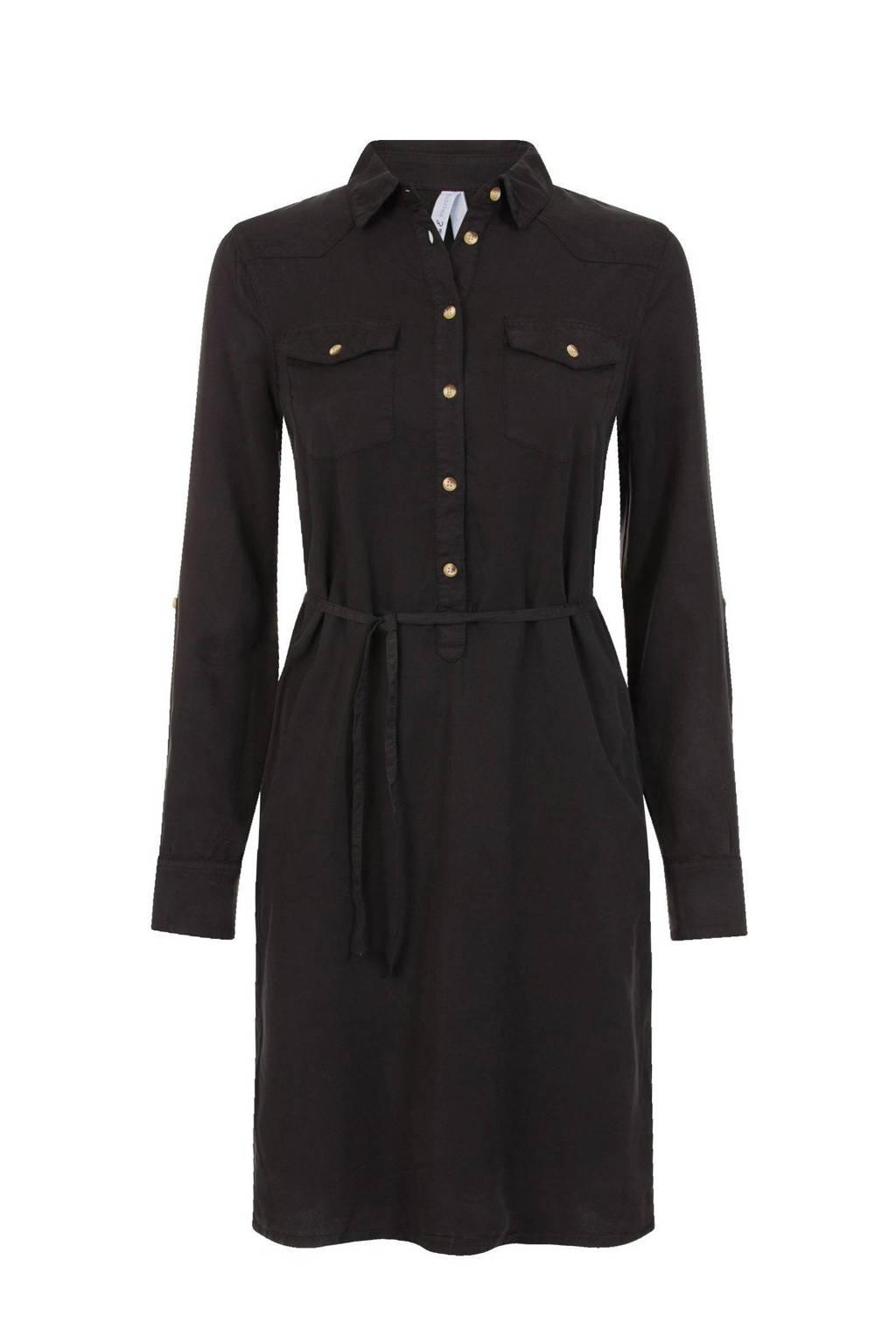 Miss Etam Regulier jurk zwart, Zwart