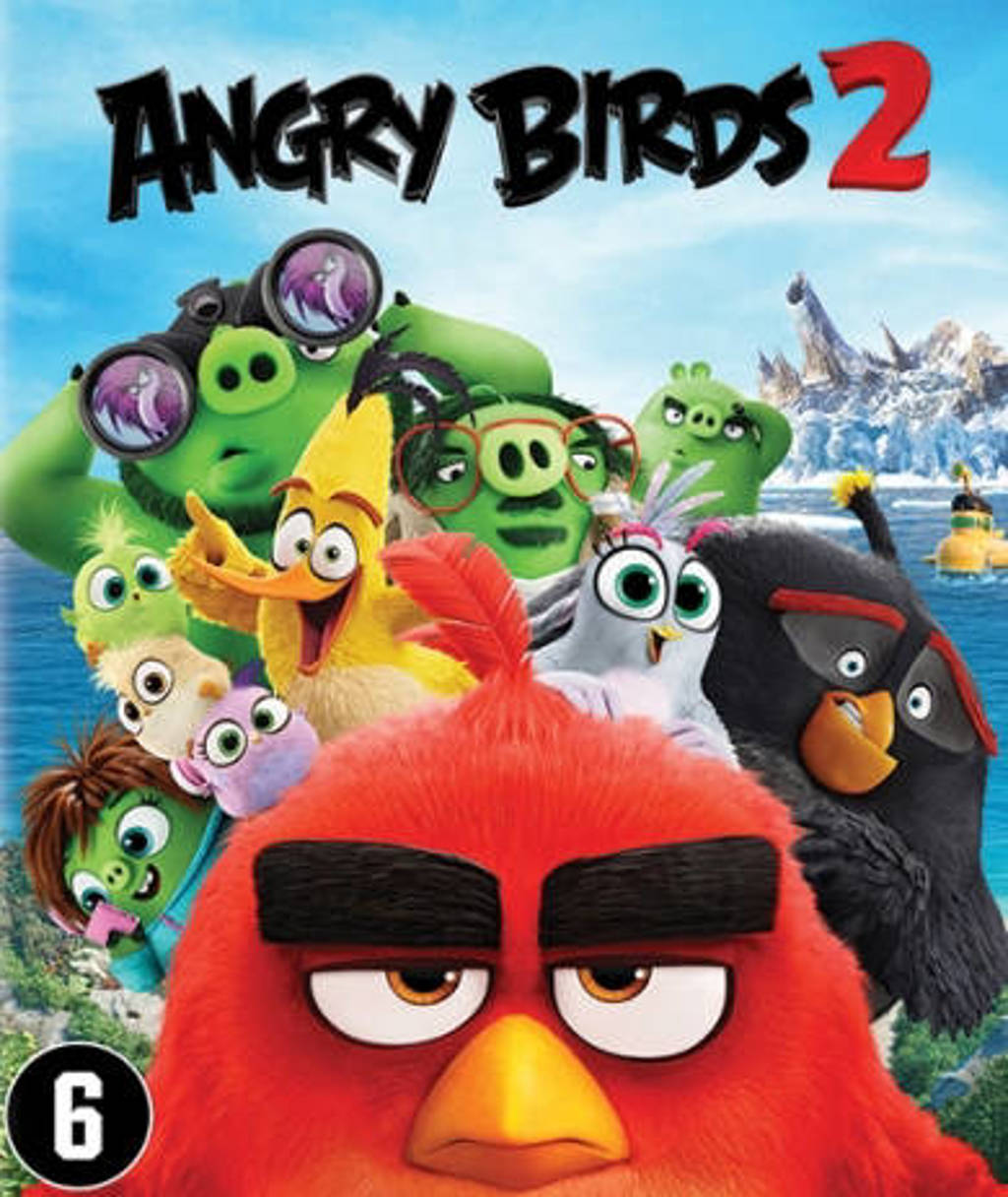 Angry birds movie 2 (BE) (Blu-ray)