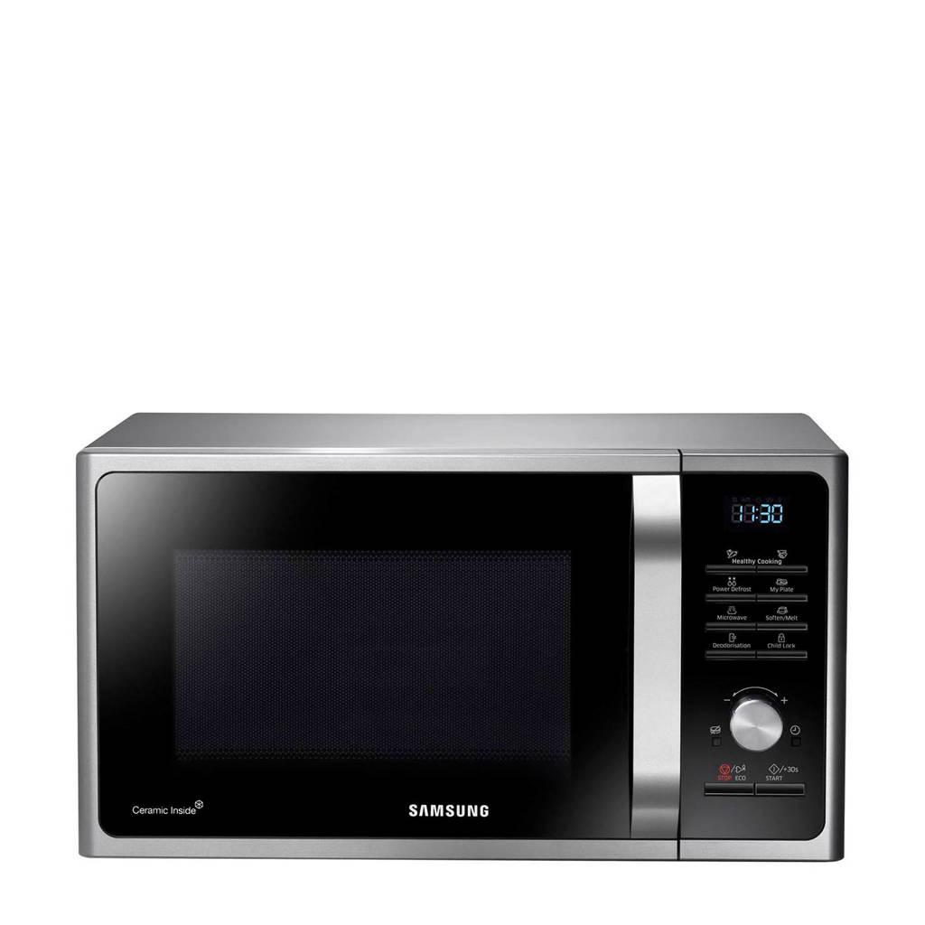 Samsung MS28F303TAS/EF magnetron, Zilver, Zwart