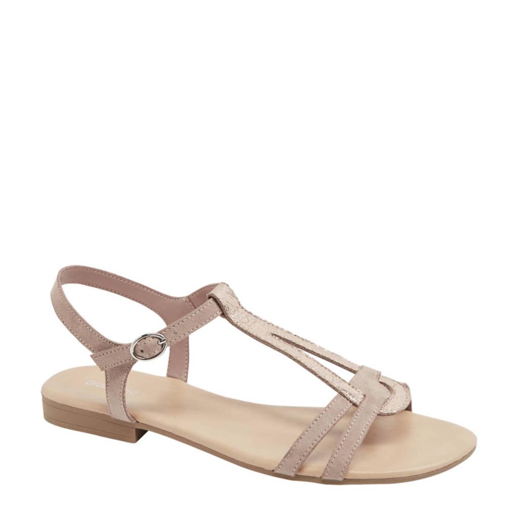 Graceland   sandalen roze/goud