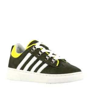 P1327  nubuck sneakers groen