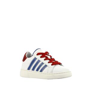 P1325  leren sneakers wit