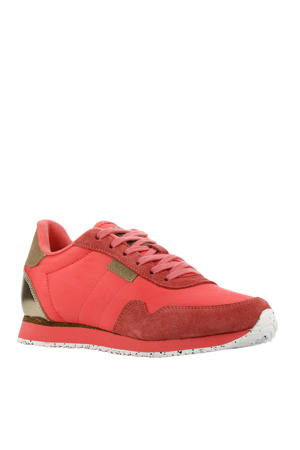 Nora II  sneakers koraalrood