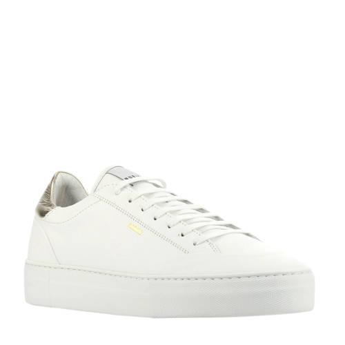 Nubikk Jolie Naya leren sneakers wit/goud