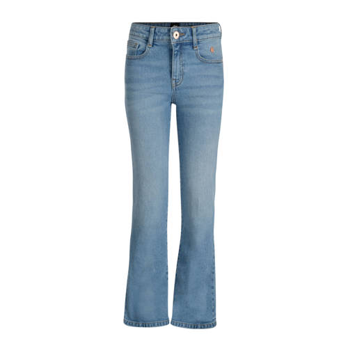 flared jeans Autumn light denim