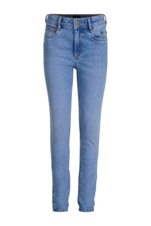 high waist skinny jeans Avelon light denim