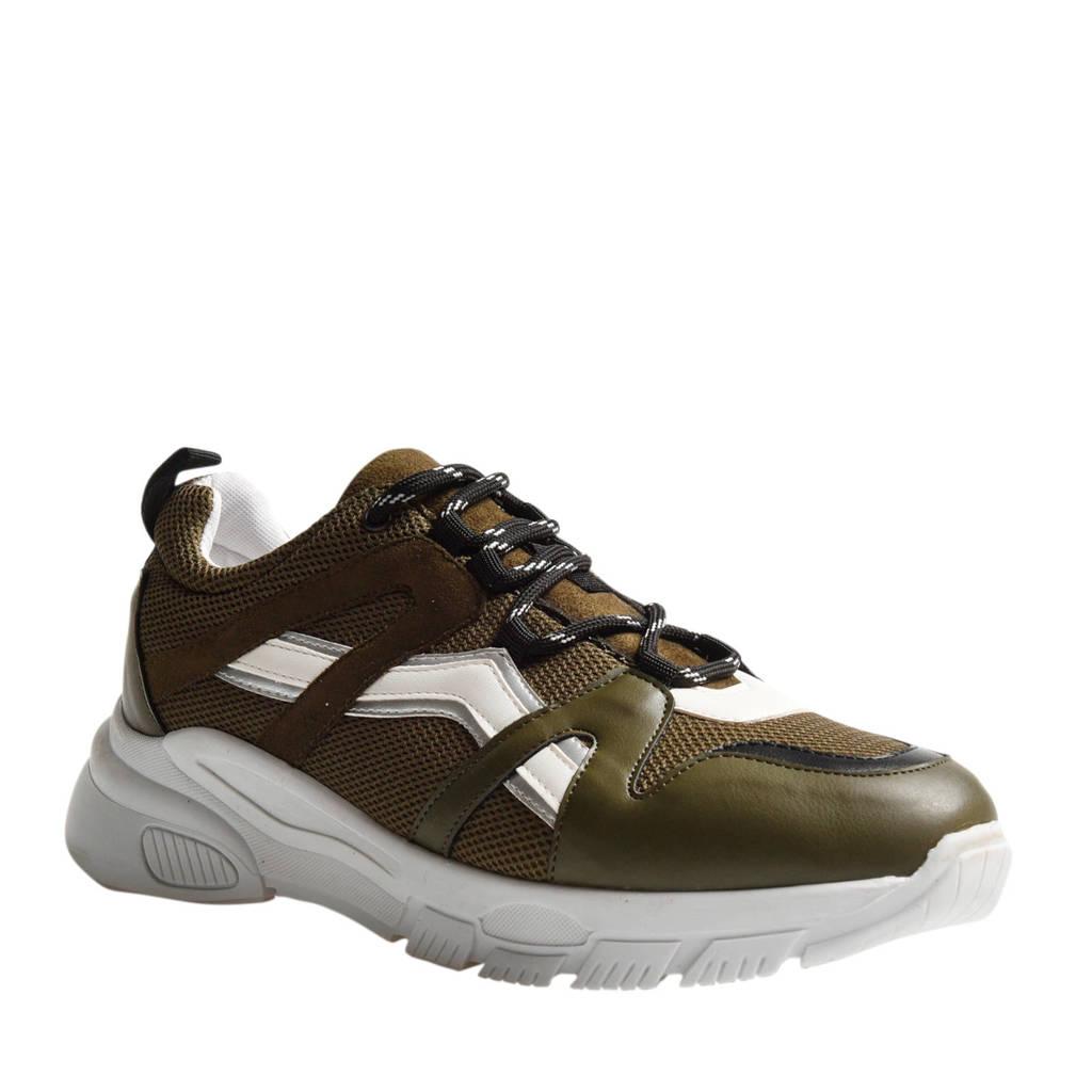 Shoeby Mary  sneakers legergroen, Legergroen