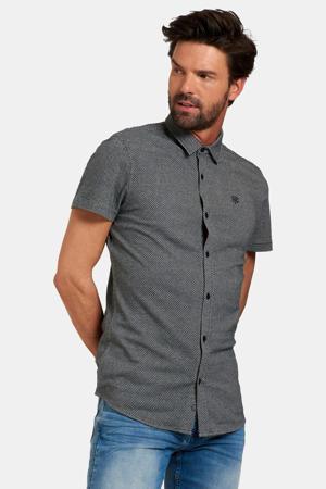 slim fit overhemd Obian dark blue