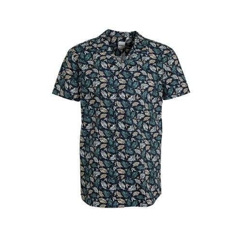 Refill by Shoeby regular fit overhemd met all over