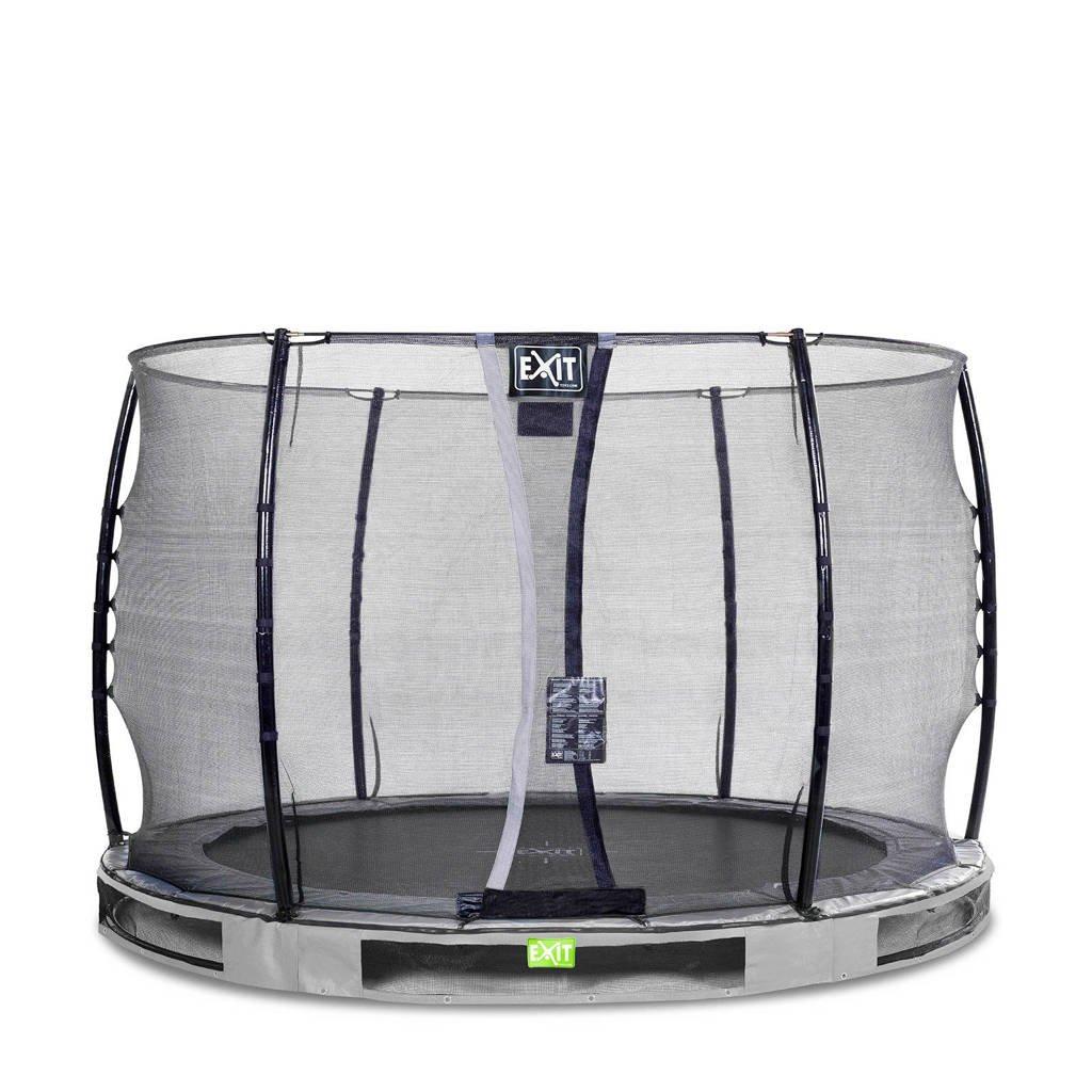 EXIT Elegant Ground trampoline 305 cm, Grijs