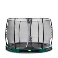 EXIT Elegant Ground trampoline 305 cm, Groen