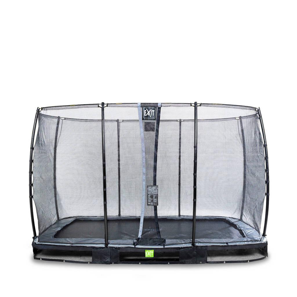 EXIT Elegant Ground trampoline 244x427 cm, Zwart