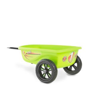 Foxy Green skelter aanhangwagen groen