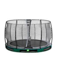 EXIT Elegant Ground trampoline 366 cm, Groen