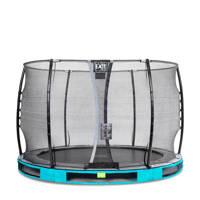 EXIT Elegant Ground trampoline 305 cm, Blauw