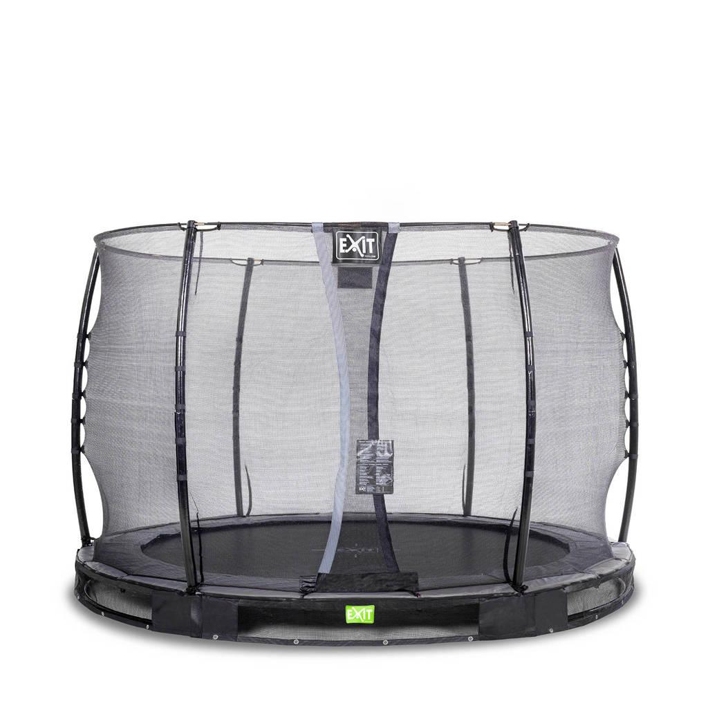EXIT Elegant Ground trampoline 305 cm, Zwart