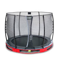 EXIT Elegant Ground trampoline Ø305 cm, Rood