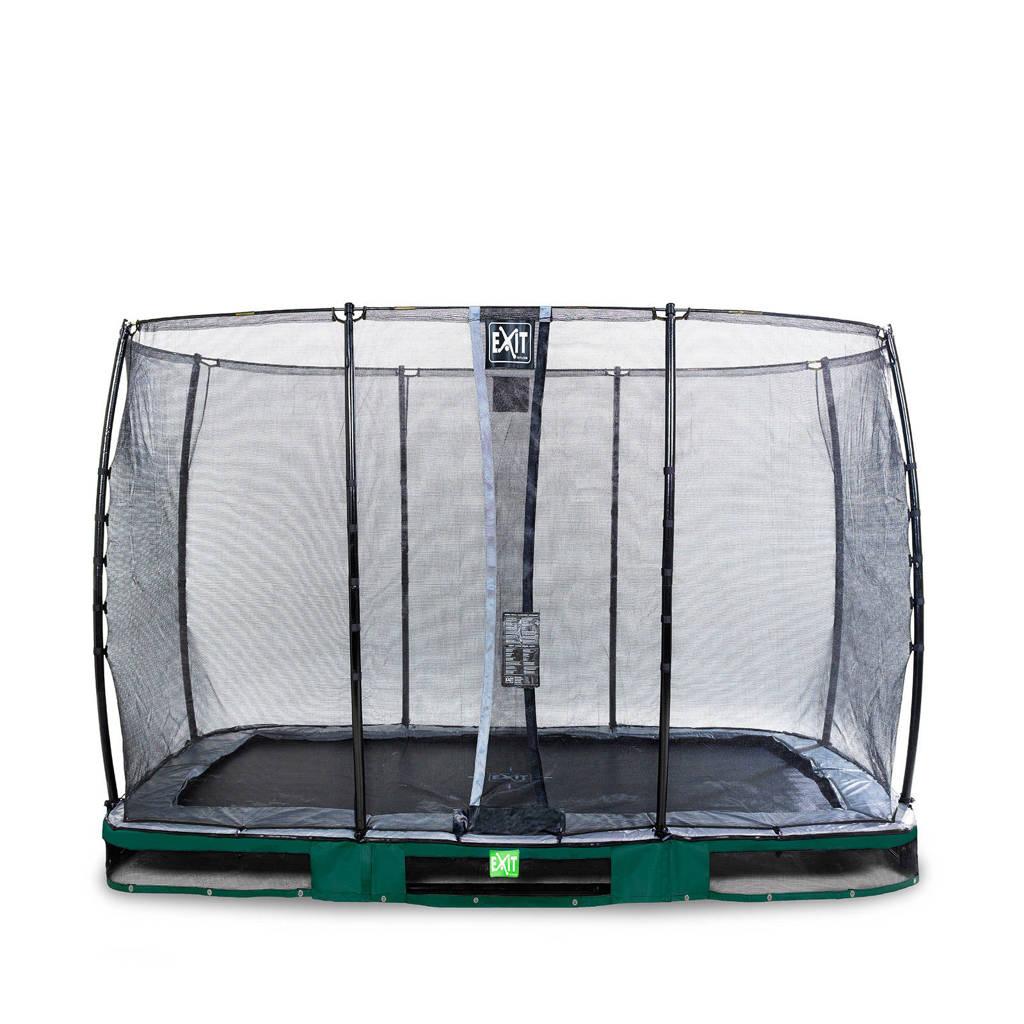 EXIT Elegant Ground trampoline 214x366 cm, Groen